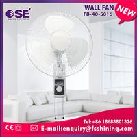 3 speed choices with oscillation function wall mounted metal exhaust fan with 3PP blade