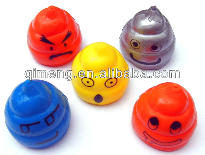 custom design stress toy flat ball