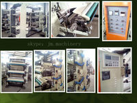 High Speed Four Colors / Six Colors Flexo Printing Machines (Flexographic Printers) Manufacturer