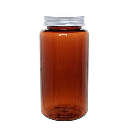 Medicine Bottle Aluminium Cap 350ml Brown