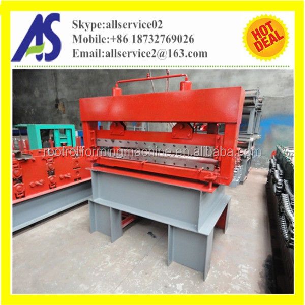 Simple auto steel metal sheet roller leveling machine