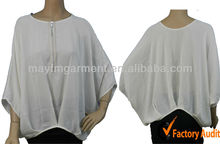 2013 new design for plus size women tops