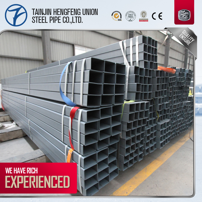 Price Of Erw Welded Galvanized Square/Rectangular Steel Pipe/Tube