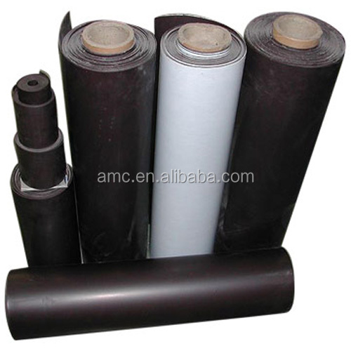 large printable white rubber magnet material flexible rubber magnet dry erase roll pvc rubber magnetic sheet
