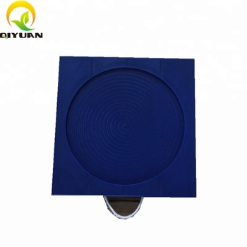 Precision square HDPE cribbing plate hardness composite uhmwpe outrigger pad