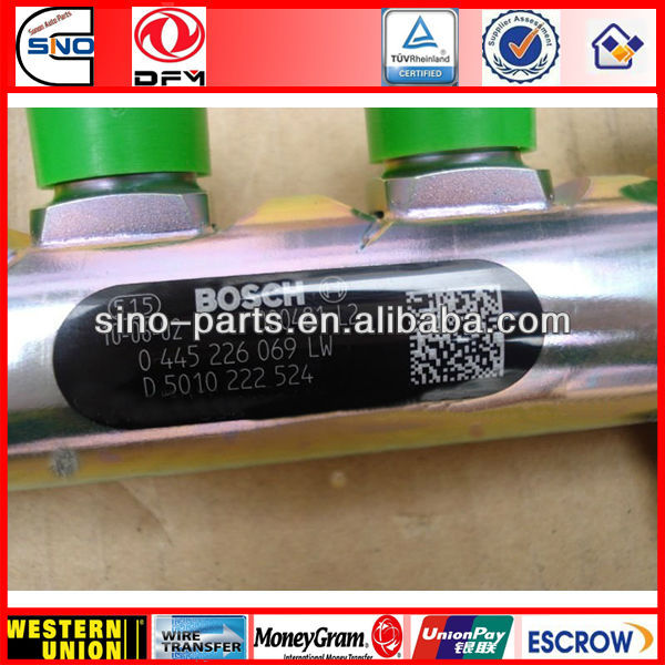 dongfeng renault truck pipe DCI11 D5010222524 rail fuel