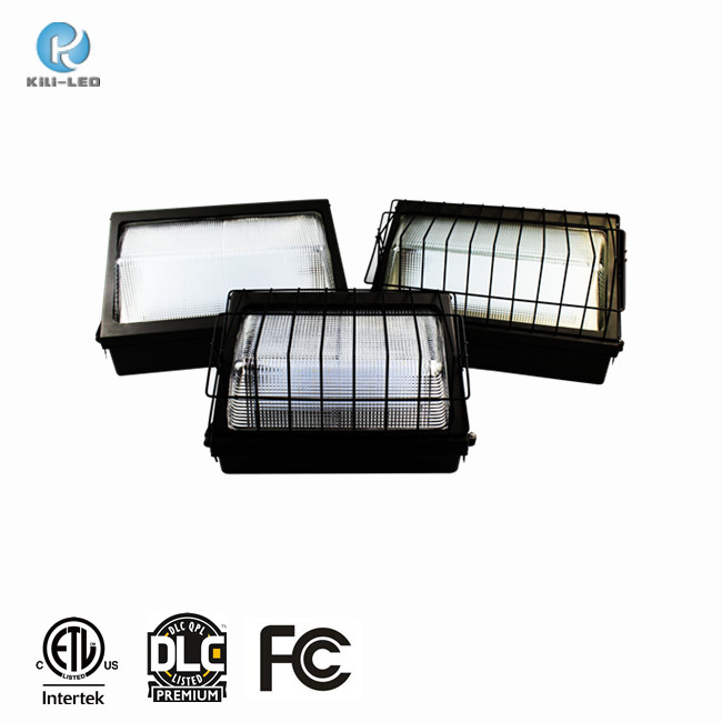 ETL 90W Forward Throw equal to 400W MH dlc led wall pack