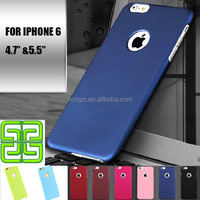 2015 New fashion luxury ultra slim for apple iphone 6 6s case 4.7 inch frosted hard silicone scrub cover phone cases