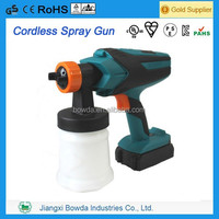 2014 Newest cordless paint spray gun