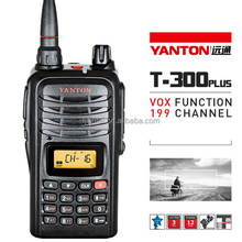 ICC Approved 80Channels UHF cb radio with big LCD display (YANTONT-300PLUS)