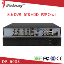 Full Realtime Playback with HDMI Output network 1080p board h 246 8ch ahd dvr
