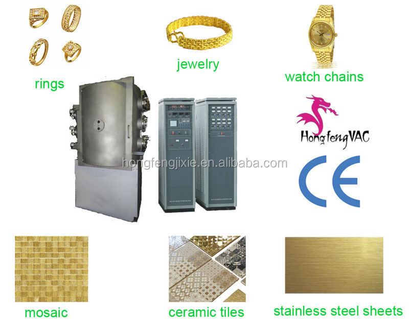 titanium nitride PVD vacuum coating machine/ceramic tile plasma coating equipment