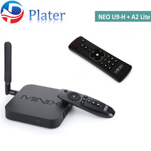Gigabit ethernet bluetooth 4.1 Octa-core 2gb 16gb minix NEO U9-H Android TV Box with A2 Lite IR-remote