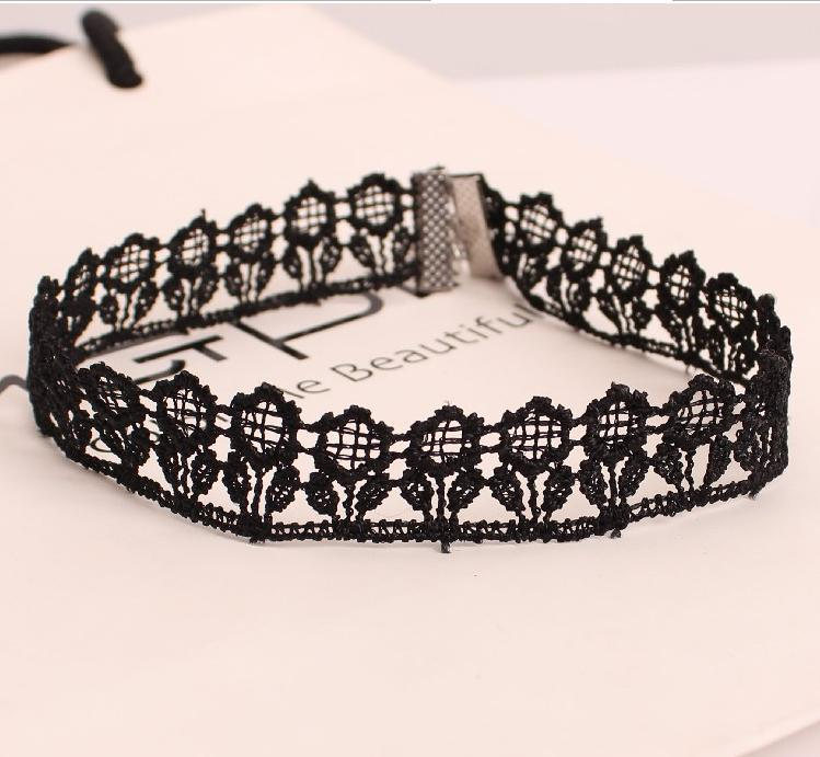 Yiwu factories direct sell Cheap jewelry Hot Sell Gothic Short Collar Choker Necklace ladies accessories