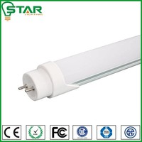 4000K Clear Cover DLC UL passed driver 18w 22W 28w 4FT T8 SMD LED Tube Florescent Light