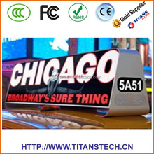 best selling led display outdoor RGB led display for taxi bus advertising outdoor led display