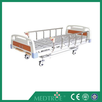 CE/ISO Approved ABS Three 3 Cranks Medical Manual Hospital Bed (MT05083062)