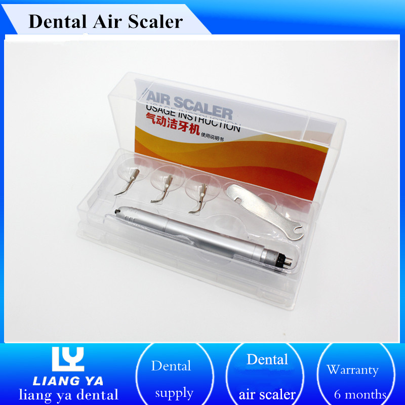 Portable ultrasonic dental scaler price dentist tool dental air scaler with 3 working tips