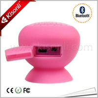 5W Mushroom Handsfree Bluetooth Silicone Speaker For iPhone