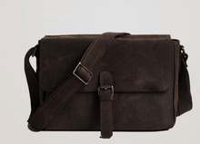 Latest Arrival Vintage Style Long Strap Mens Leather Messenger Bag
