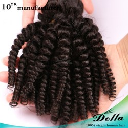 Wholesale 100% raw pure human hair weft double weft cheap dominican virgin hair