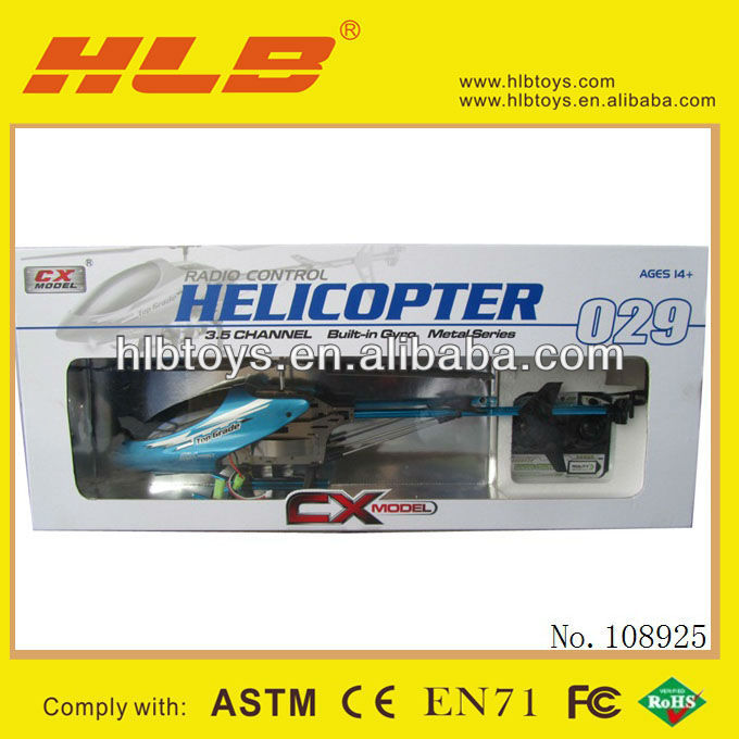 2013 cx029 new rc model,3.5CH alloy big size rc helicopter