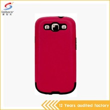 Customized low moq shockproof for samsung galaxy s3 case