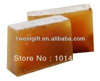 Shea butter oil firming plant soap,100% handmade soap (wzBL002)