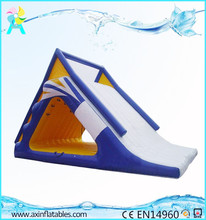0.9MM PVC Giant Kids Inflatable Water Floating Playground With Slide For Adults Sale