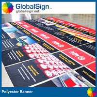 polyester fabric banner sign custom