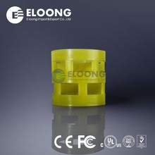 5/8 Inch Eloong High Flux Random Packing Plastic Pall Ring For Flash Tower