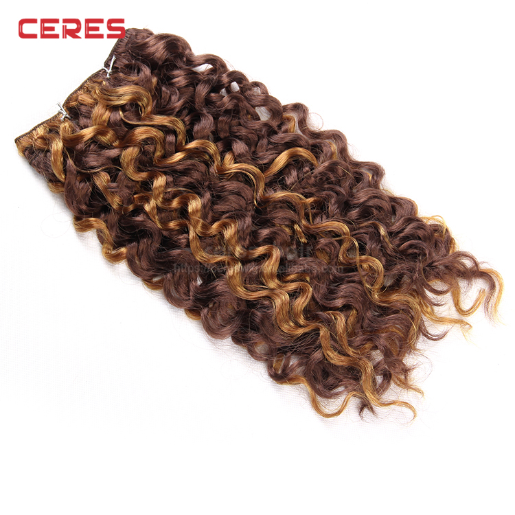 Aliexpress African Synthetic Hair Extension Weavegood Japanese