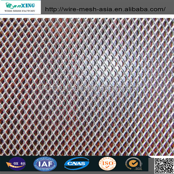 expanded metal stucco mesh/stainless steel expanded metal mesh diamond hole size for floor walkway