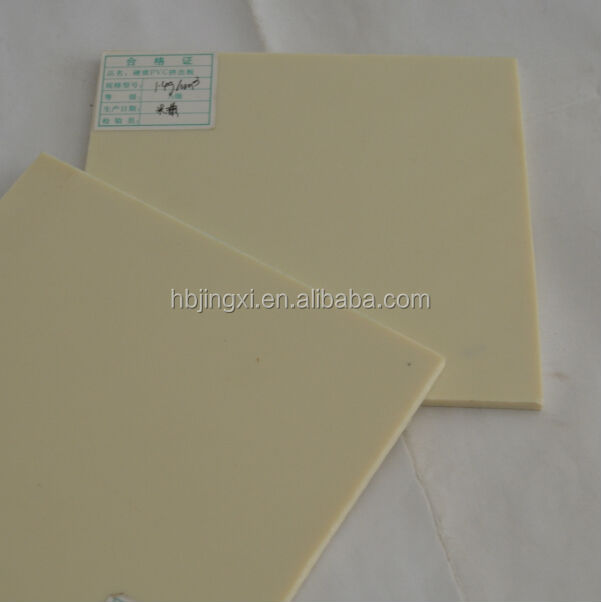 white pvc plastic sheet 3m 5m length