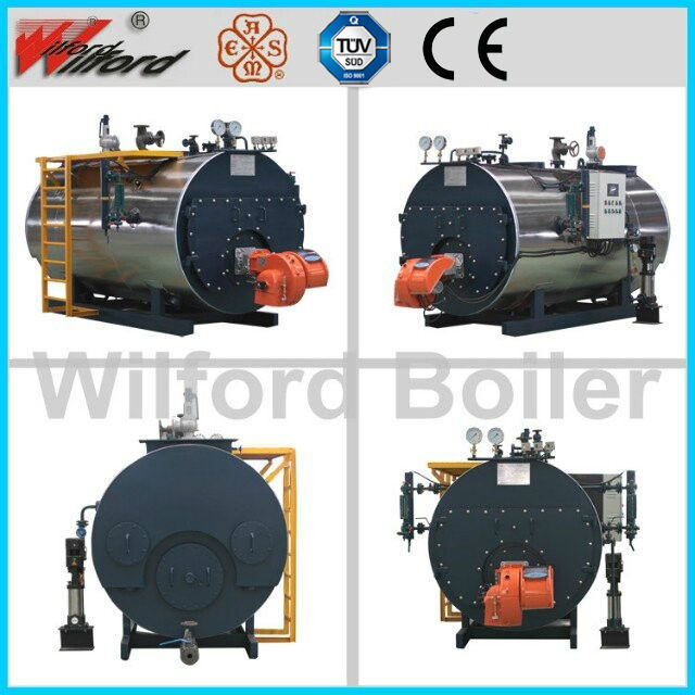 Gas fired high pressure Steam Boiler with CE