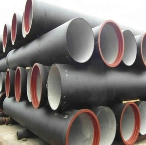 Euro standard EN545 K7 K9 Class c Ductile Iron Pipes with EPDM ring