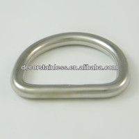Rigging stainless steel D ring