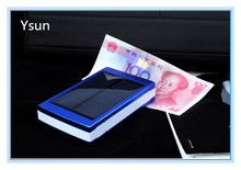 Hot selling waterproof solar power bank charger, mobile phone case power bank charger, portable mini rechargeable power bank