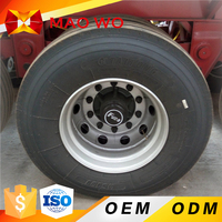 8.50 tubeless 8 hole truck Steel Wheel Armoured Car Rim