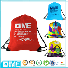 Durable Drawstring Sling Backpack Fashion Polyester Backpack