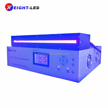 HTLD high power 395nm uv led screen printing dryer