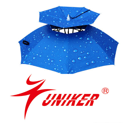 Umbrella Hat For Uv Protection,Rain Protection Umbrella For Fishing