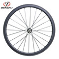 Cheap Wheels for Training ! Dengfu 38mm Profile Carbon Tubular Road Bike Wheels with Novatec Hubs and CN494 Spokes