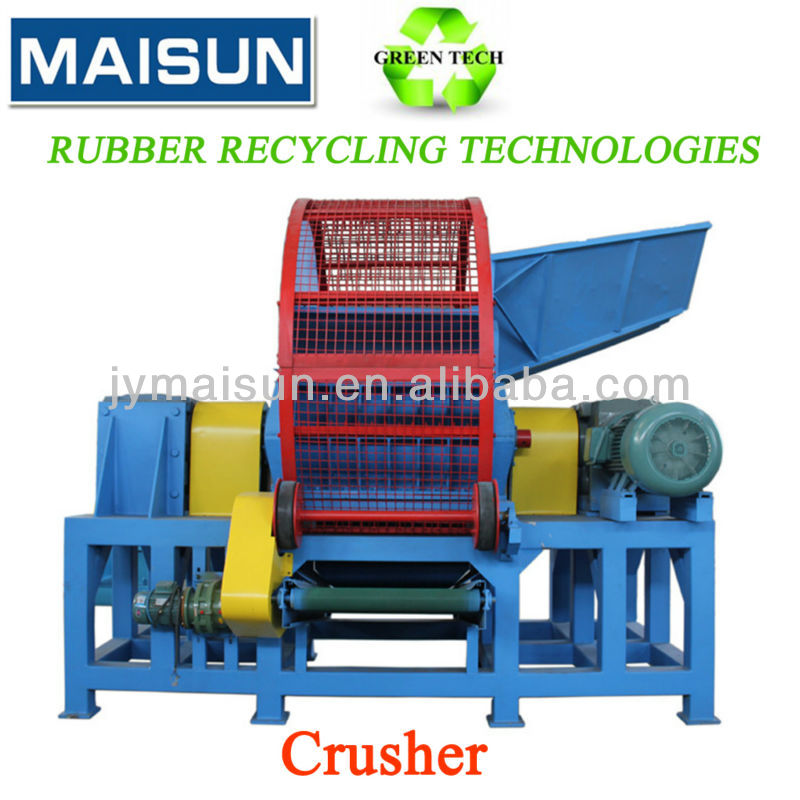 used tire/tyre shredder,waste tire crusher for sale