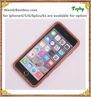 wholesale mobile phone cases wood back cover,customized logo engraved wooden case for iphone 5 6 real wood and bamboo