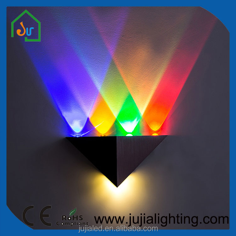 designest good led triangle wall light