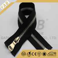 ykk teeth metal zippers wholesale
