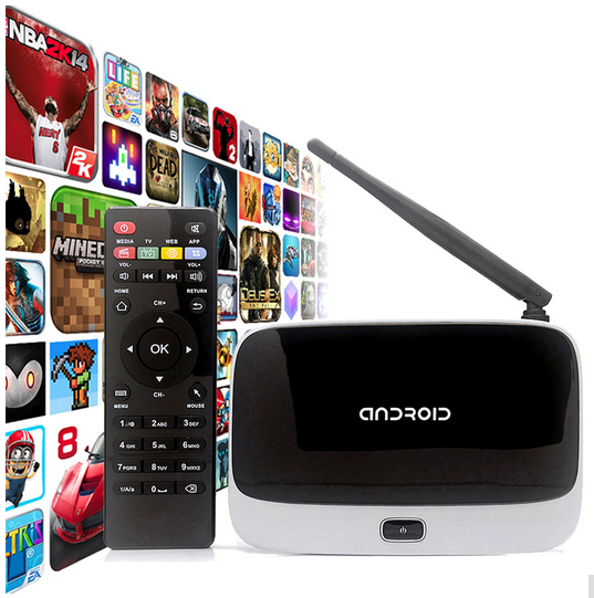 (Q7) Android TV Box CS918 TV Box RK3188 cs918 quad core CS918 Smart Android TV Box