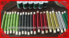 good quaity colored metallic wire PET paper covered wire