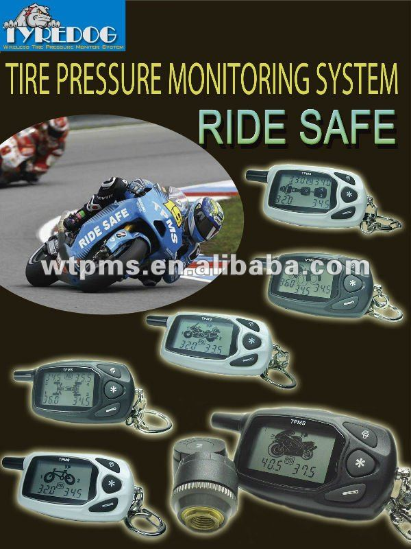 New Motorcycle wireless tire pressure monitoring system